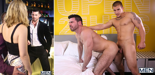 Photo of Str8 to Gay: Billy Santoro sendo arrombado por Adam Bryant – Men.com