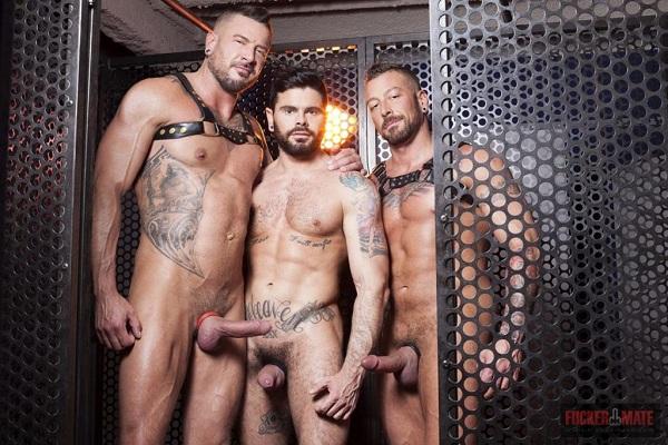 Photo of FuckerMate: Mario Domenech, Dolf Dietrich, Hugh Hunter – Bareback