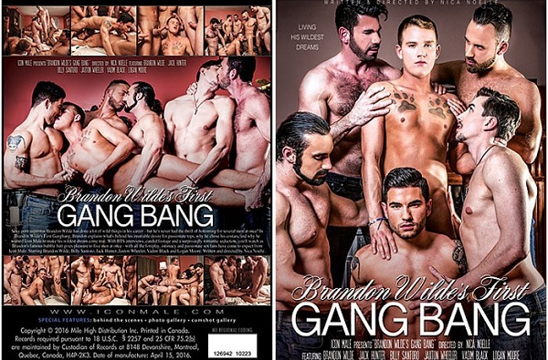 Photo of Filme Porno Gay Completo – Brandon Wilde's First Gang Bang