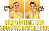 Video dos ginastas brasileiros Arthur Zanetti e Sergio Sasaki se masturbando na webcam em um banheiro!