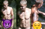 Cai na internet foto do Justin Bieber nu, sem tarja e em alta Qualidade