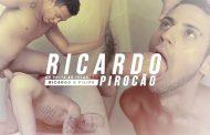 Hotboys - Ricardo Pirocão e Felipe Leonel - Novinho levando Pirocada do Ricardão