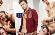 The Flash A Gay XXX Parody Part 3 - Jessy Ares e Johnny Rapid