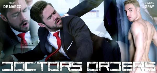 Menatplay - Doctor's Orders - Mike De Marco & Kayden Gray