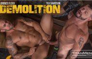 TitanMen - Demolition - Lorenzo Flexx dando pro dotadão Tex Davidson