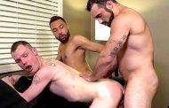 1 Ativo e 2 Passivos - Ben Tyler, Carson Cruise & Jaxton Wheeler - Bareback