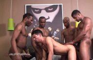 Fazendo Amigos numa Suruba - Cuba Santos, JD Daniels, Aron Ridge, Justin Blayde & Gabriel D'Alessandro