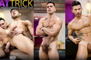 DrillMyHole - Hat Trick Part 1 - Andy Star sendo enrabado por Paddy O'Brian