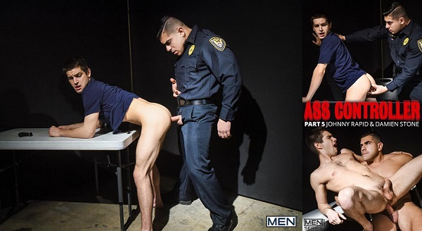 Photo of DrillMyHole – Ass Controller, Part 5 – Damien Stone fucks Johnny Rapid