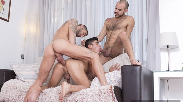 Photo of FuckerMate – Two Is Better Than One – Alejandro Torres, Patrick Dei & Joaquin Santana – Bareback