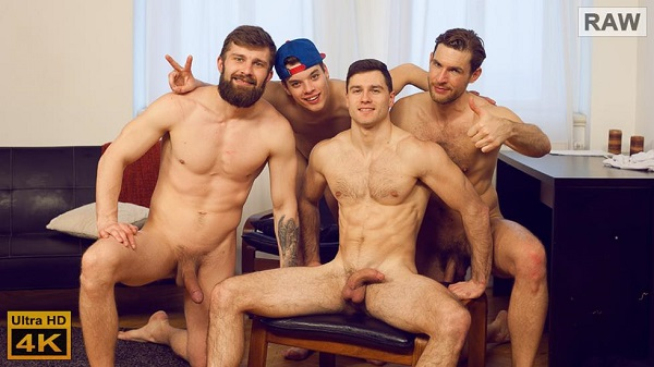Photo of WilliamHiggins – Wank Party #93 Part 2 – Adam Zrzek, Karel Polak, Nikol Monak & Tomas Salek