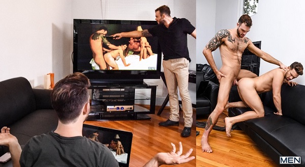 Photo of Drill My Hole – Cable Guy is a Porn Star – Cliff Jensen & Casey Jacks