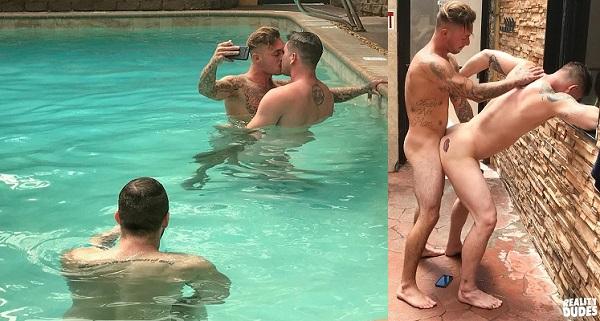 Photo of Dudes In Public 23 – Wet and Wild – Brian Michaels e Allen Lucas