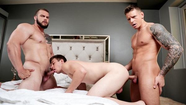 Photo of Sexscape – Gunner, Nathan Styles e Dax Carter – Bareback