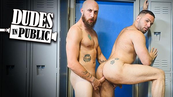 Photo of Dudes In Public 31 – Locker Room – Dustin Steele e Julian Knowles