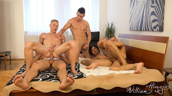 Photo of Wank Party #100 Part 2 – Hugo Antonin, Martin Pesek, Oleg Hubert, Oto Useda e Petr Ugan