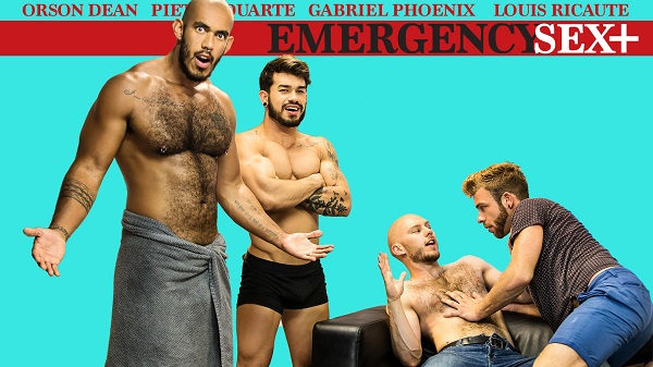 Photo of Emergency Sex – Episódio 3 – Gabriel Phoenix, Louis Ricaute, Orson Deane, Pietro Duarte