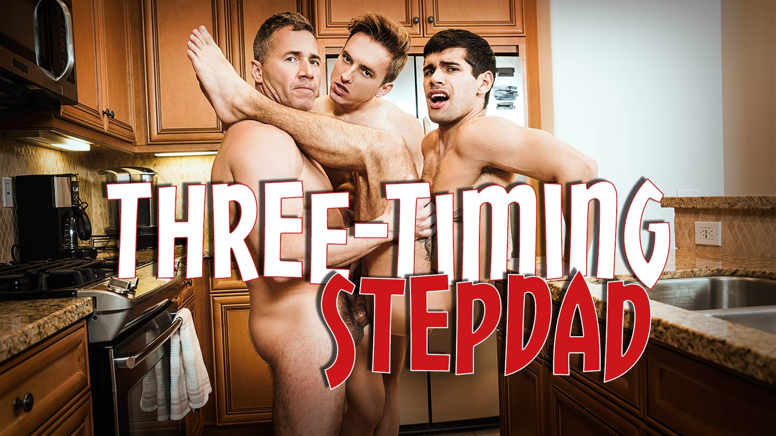 Photo of Three-Timing Stepdad – Dean Phoenix fucks Bar Addison and Ty Mitchell – Bareback