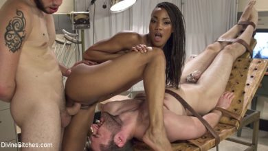Photo of Cuckolding Therapy – Wolf Hudson, Nikki Darling, e Abel Archer