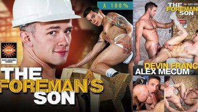 Photo of The Foreman's Son (O filho do Capataz)- Alex Mecum e Devin Franco – Bareback