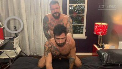 Photo of JustForFans – Rocco Steele & Jake Nicola – Bareback